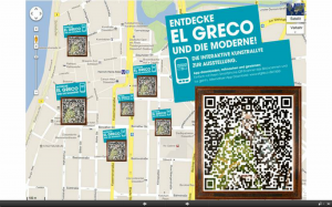 Stadtplan mit allen QR-Stationen...