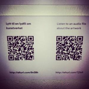 QR-Codes bieten Informationen