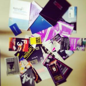 Es war viel Papier in der Konferenztasche...