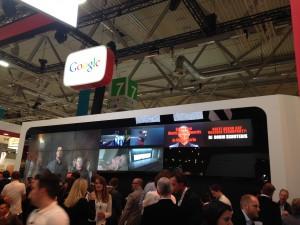 Google auf der dmexco