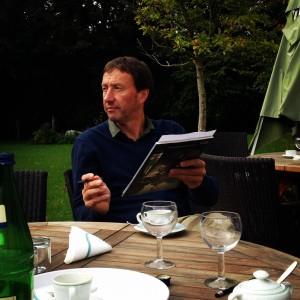 Klaus Richter, Künstler und Kurator des Kulturforum Alte Post