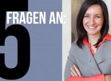 Fünf Fragen an Petra Ronzani, gestellt von Barbara Wolf
