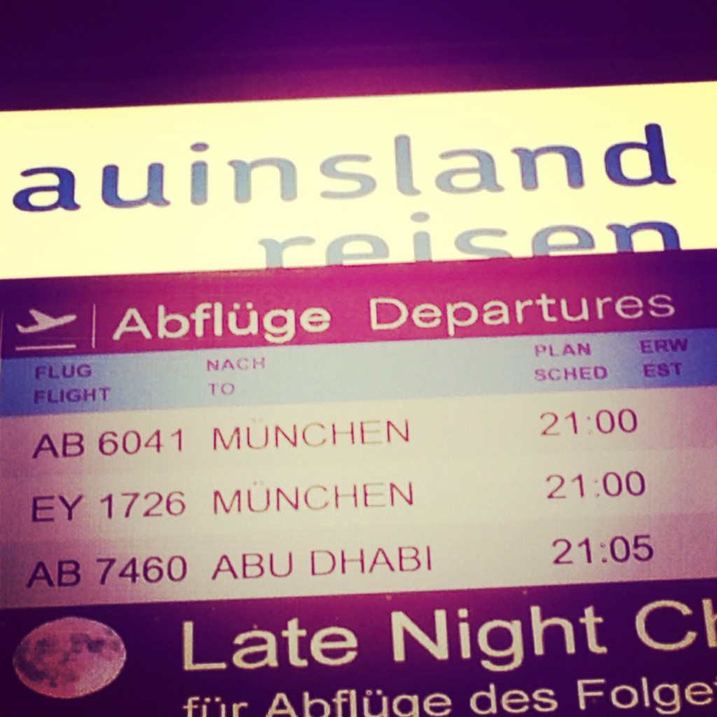 Going to Australia with a stop-over in Abu Dhabi