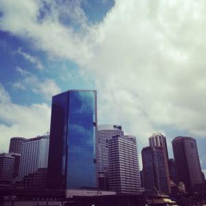 Sydney's impressive skyline