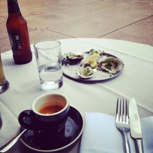 Light Australian lunch