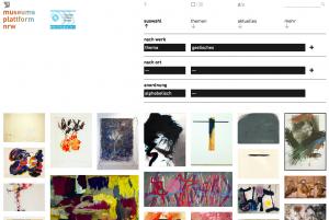 Webauftritt museumsplattform nrw