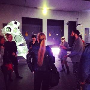 Begegnung mit Künstler Nik Nowak