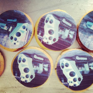 Soundpanzer-Cookies zum Tweetup